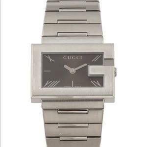 PRICE DROP NWT GUCCI Swiss Rectangle Dial Watch